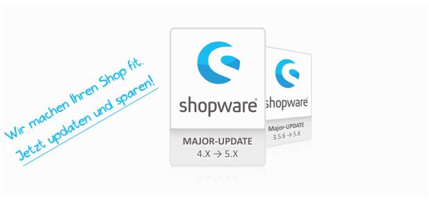 Shopware 5 Update Banner